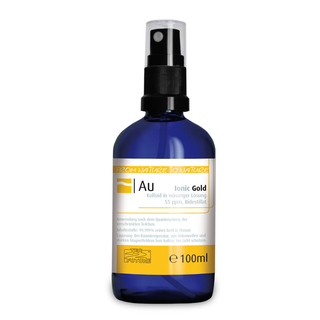 Ionic colloidal Gold (100ml)