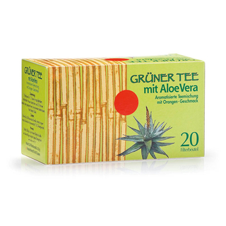 Green tea with aloe vera (40g)