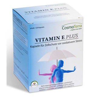 Cosmoterra Vitamin E Plus (120 caps)