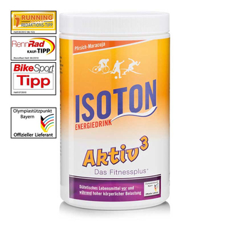 Aktiv3 Isotone-Energy Drink Peach-Passion Fruit (900g)