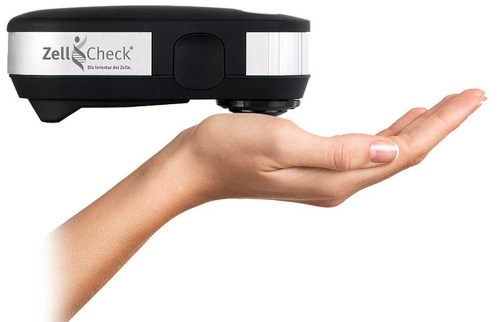 Der Zell-Check basiert auf der Spektral-Photometrie